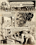 """Original Comic Art:Complete Story, Bernie Wrightson Web of Horror #1 Complete 6-Page Story """"The Game That Plays You!"""" Original Art Group (Major Magaz... (Total: 6 Original Art)"""