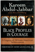 Books:Biography & Memoir, [African-American]. Kareem Abdul-Jabbar and Alan Steinberg. SIGNED.Black Profiles in Courage: A Legacy of African-Ameri...