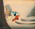 "Animation Art:Production Cel, Fantasia ""The Sorcerer's Apprentice"" Mickey Mouse ProductionCel (Walt Disney, 1940)...."
