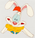 Animation Art:Production Cel, Tummy Trouble Roger Rabbit Production Cel (Disney/Amblin,1989)....