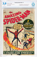 Silver Age (1956-1969):Superhero, The Amazing Spider-Man #1 (Marvel, 1963) CBCS GD/VG 3.0 Whitepages....