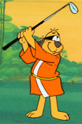 Animation Art:Production Cel, Hong Kong Phooey Production Cel Set-Up (Hanna-Barbera,1974)....