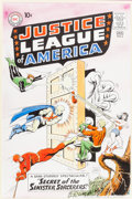 Original Comic Art:Covers, Murphy Anderson Justice League of America #2 CoverRecreation Original Art (1996)....