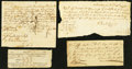 Colonial Notes:Connecticut, Selection of Colonial Notes Not in Anderson.. ... (Total: 4 items)