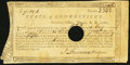 Colonial Notes:Connecticut, Connecticut Treasury Certificate £7.13s.1d June 1, 1782 AndersonCT-19 Very Good-Fine, HOC.. ...