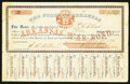 Obsoletes By State:Arkansas, (Little Rock), AR- State of Arkansas $5 Bond 1861 Cr. 61J1. ...