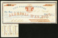 Obsoletes By State:Arkansas, (Little Rock), AR- State of Arkansas $20 Bond 1861 Cr. 61L1. ...