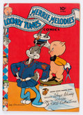 Golden Age (1938-1955):Cartoon Character, Looney Tunes and Merrie Melodies Comics #18 (Dell, 1943) Condition:FN+....
