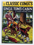 Golden Age (1938-1955):Classics Illustrated, Classic Comics #15 Uncle Tom's Cabin - Original Edition (Gilberton,1943) Condition: GD/VG....
