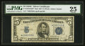 Small Size:Silver Certificates, Fr. 1653* $5 1934C Mule Back Plate 629 Silver Certificate. PMG Very Fine 25.. ...