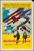 """Movie Posters:War, Von Richthofen and Brown (United Artists, 1971). One Sheets (2)(27"""" X 41"""") & Lobby Card Set of 8 (11"""" X 14""""). War.. ...(Total: 10 Items)"""