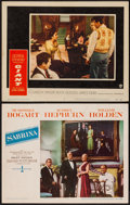 "Movie Posters:Romance, Sabrina & Other Lot (Paramount, 1954). Lobby Cards (2) (11"" X 14""). Romance.. ... (Total: 2 Items)"