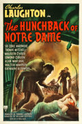 "Movie Posters:Horror, The Hunchback of Notre Dame (RKO, 1939). One Sheet (27.25"" X 41"")....."
