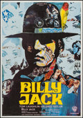 "Movie Posters:Action, Billy Jack (Warner Brothers, 1971). French Affiche (22"" X 31"").Action.. ..."