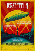 "Movie Posters:Rock and Roll, Led Zeppelin: Celebration Day (Nexo Digital, 2012). Italian 2 -Foglio (38"" X 55""). Rock and Roll.. ..."