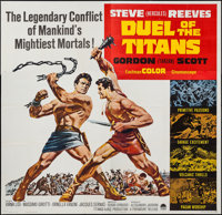 """Duel of the Titans (Paramount, 1963). Six Sheet (80"""" X 79""""). Action"""