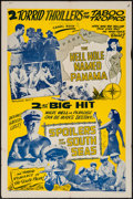 "Movie Posters:Adventure, The Hell Hole Named Panama/The Spoilers of the South Seas Combo& Other Lot (1940s). One Sheets (2) (27"" X 41""). Adventure....(Total: 2 Items)"