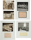"Baseball Collectibles:Photos, 1930's-70's Charles ""Red"" Ruffing Photographs Lot of 15...."