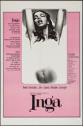 "Movie Posters:Sexploitation, Inga & Others Lots (Cinemation Industries, 1968). One Sheets(3) (27"" X 41""). Sexploitation.. ... (Total: 3 Items)"