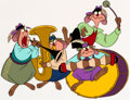 Animation Art:Production Cel, An American Tail Bavarian Mouse Band Production Cel (AmblinEntertainment, 1986)....