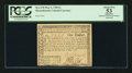 Colonial Notes:Massachusetts, Massachusetts May 5, 1780 $1 PCGS Apparent About New 53.. ...