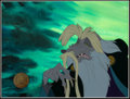 Animation Art:Production Cel, The Secret of NIMH Nicodemus Production Cel Setup (UnitedArtists/Bluth, 1982).... (Total: 2 Original Art)