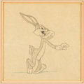 Animation Art:Production Drawing, Bugs Bunny Animation Drawing (Warner Brothers, c. 1940s)....
