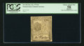 Colonial Notes:Pennsylvania, Pennsylvania October 25, 1775 9d PCGS Apparent Choice About New58.. ...