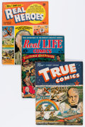 Golden Age (1938-1955):Miscellaneous, Golden Age Miscellaneous Comics Group (Various Publishers, 1940s-50s) Condition: Average VG.... (Total: 11 Comic Books)