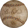 Autographs:Baseballs, Early 1930's Babe Ruth & Lou Gehrig Dual Signed Baseball....