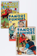 Golden Age (1938-1955):Miscellaneous, Famous Funnies Group (Eastern Color, 1942-46) Condition: Average VG/FN.... (Total: 9 Comic Books)