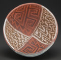 American Indian Art:Pottery, A ST. JOHN'S POLYCHROME BOWL. c. 1150 - 1300 AD. ...