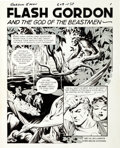 Original Comic Art:Splash Pages, Al Williamson Flash Gordon #5 Splash Page 1 Original Art(King Features, 1967)....