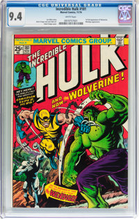 The Incredible Hulk #181 (Marvel, 1974) CGC NM 9.4 White pages