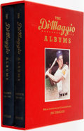 Books:Biography & Memoir, [Baseball]. Joe DiMaggio. Richard Whittingham, editor. The DiMaggio Albums: Selections from Public and Private Collectio... (Total: 2 Items)