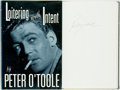 Books:Biography & Memoir, Peter O'Toole. SIGNED. Loitering with Intent: The Child. NewYork: Hyperion, [1992]. First Edition. Signed by Pete...