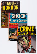 Golden Age (1938-1955):Miscellaneous, EC Comics Group (EC, 1950s) Condition: Average VG/FN.... (Total: 4 Comic Books)