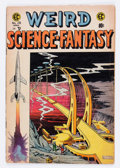 Golden Age (1938-1955):Science Fiction, Weird Science-Fantasy #28 (EC, 1955) Condition: VG/FN....