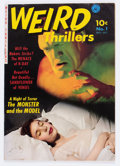 Golden Age (1938-1955):Horror, Weird Thrillers #1 (Ziff-Davis, 1951) Condition: FN/VF....