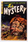 Golden Age (1938-1955):Horror, Mister Mystery #11 (Aragon, 1953) Condition: GD/VG....