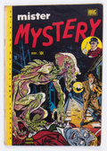 Golden Age (1938-1955):Horror, Mister Mystery #2 (Aragon, 1951) Condition: VG+....