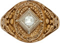 """Baseball Collectibles:Others, 1941 New York Yankees World Championship Lady's Ring Presented to Charles """"Red"""" Ruffing...."""