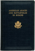 Books:Reference & Bibliography, [American Battle Monuments Commission]. American Armies andBattlefields in Europe: A History, Guide, and Reference Book...