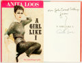 Books:Biography & Memoir, Anita Loos. INSCRIBED. A Girl Like I. New York: VikingPress, [1966]. Inscribed by the author....