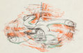 Animation Art:Production Drawing, On Ice Pluto Production Drawing Animation Art (Walt Disney,1935)...