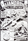 Original Comic Art:Covers, Ramona Fradon Metamorpho #2 Cover Recreation Original Art(undated)....