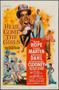 """Movie Posters:Comedy, Here Come the Girls (Paramount, 1953). One Sheet (27"""" X 41"""").Comedy.. ..."""