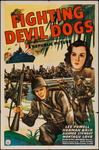 """The Fighting Devil Dogs (Republic, 1938). One Sheet (27"""" X 41""""). Serial"""