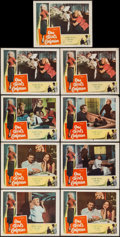 """Movie Posters:Bad Girl, One Girl's Confession (Columbia, 1953). Lobby Cards (9) (11"""" X14""""). Bad Girl.. ... (Total: 9 Items)"""