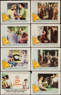"""Movie Posters:Drama, The Long, Hot Summer (20th Century Fox, 1958). Lobby Card Set of 8 (11"""" X 14""""). Drama.. ... (Total: 8 Items)"""